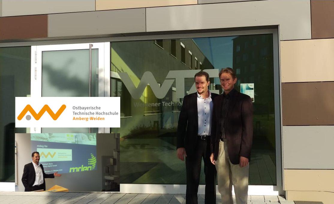 mdeg & Universität/OTH Amberg entwickeln gemeinsam Connectivity Solutions für Medizinprodukte
